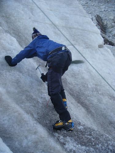 Jeff Climbing