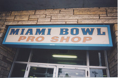 Marzano's Miami Bowl on South Archer Avenue. (Gone.) Chicago Illinois. September 2004.