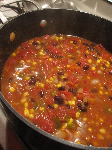 Southwest Tomato Soup