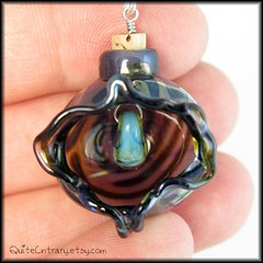 Gaping Blue. Open Yoni Vessel Pendant (QuiteCntrary) Tags: ocean blue sea water glass bells silver lesbian gold necklace leaf bottle slick rainbow aqua erotic perfume adult handmade cunt oneofakind ooak cork tide pussy blowing jewelry lips ampoule polymerclay ornament mature earthy le oil vagina hanging iridescent swirls blossoming aquatic tidepool tidal lampwork swirly bail pendant yoni blown swirling stopper vial sra unfurling ajar tinkling agape vulva vajayjay sapphic phial quitecntrary quitecuntrary eroticsignature artundressed