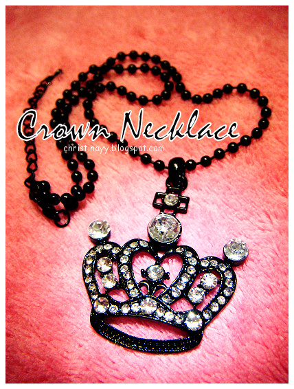 Crown Necklace