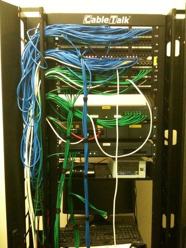 FreshBooks cabling: Before