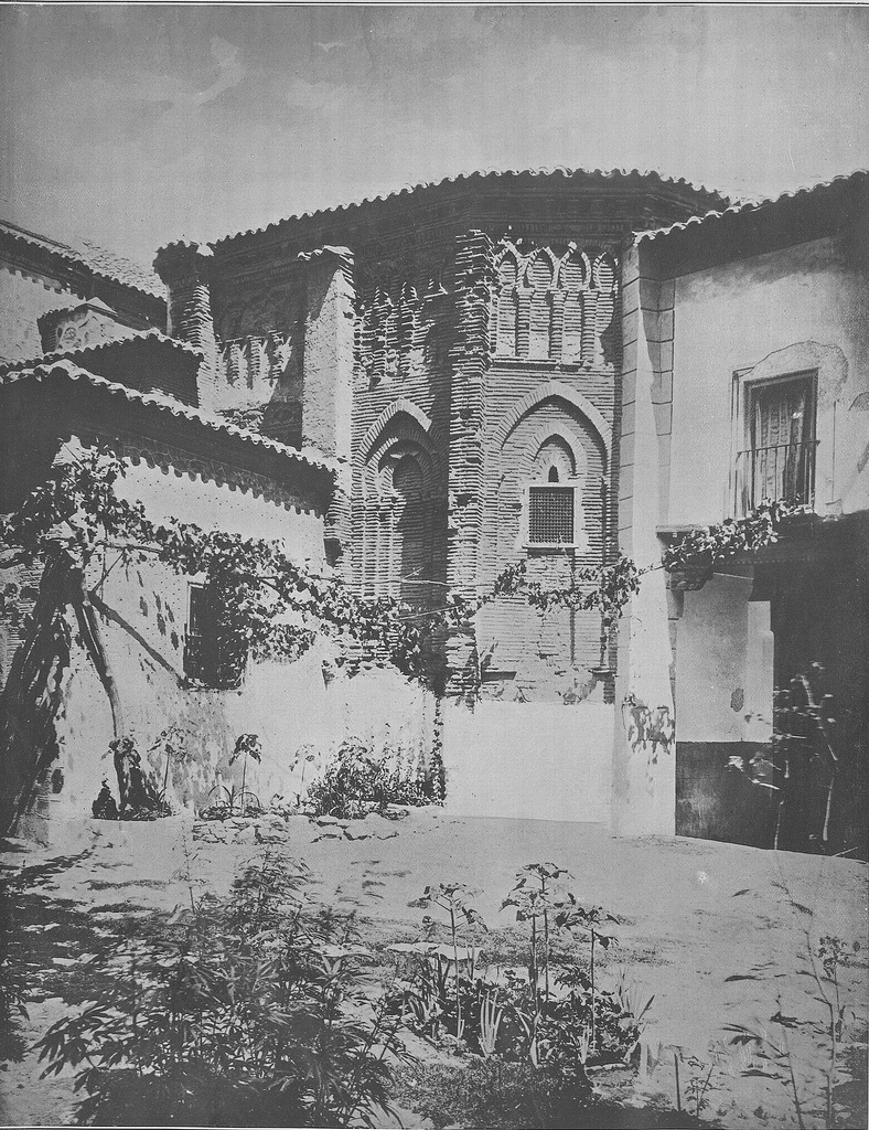 Ábside del Convento de Santa Fe en 1905