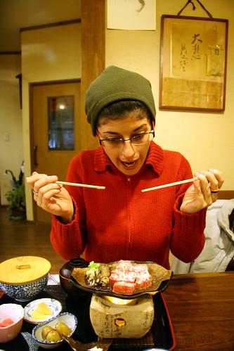 Takayama - hida Beef - a por ellos