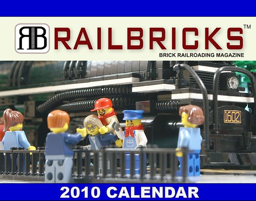 RAILBRICKS 2010 Calendar