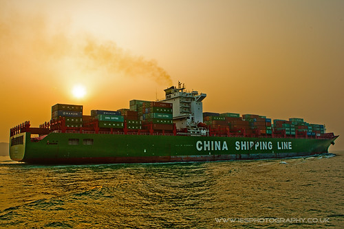 Hong Kong Container Ship