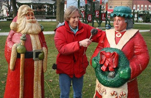 Jeffrey Hedquist Interviewing Mrs. Claus
