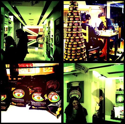 Marmite pop up shop, Regent Street