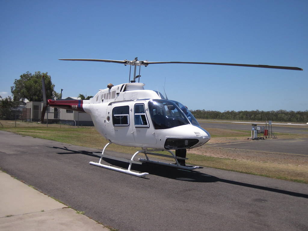Our heli for the 10 min flight