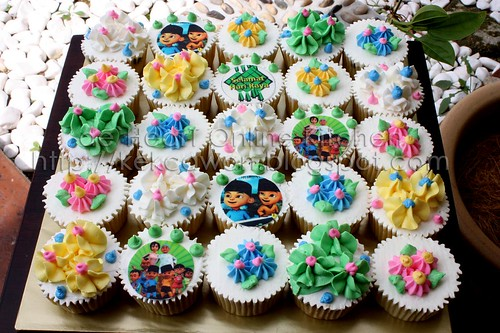 Aidilfitri Cupcake