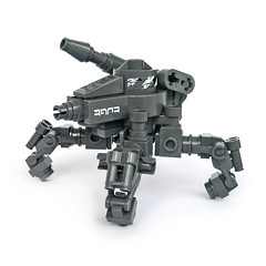 Tattaka - Gunner Type (Fredoichi) Tags: lego space military walker gunner mecha mech multiped fredoichi