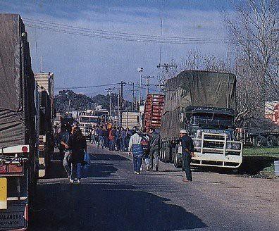 razorback truck blockade 1979