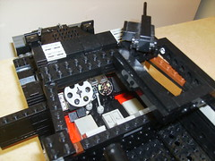 Lego M3 Halftrack cab detail (formula_bird) Tags: truck lego military turret aa halftrack maxon m3halftrack