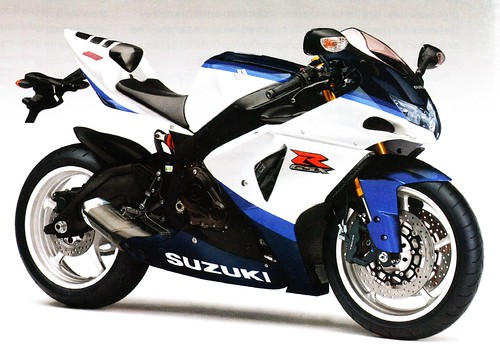 photo of the K10 GSXR 800cc bike which will replace the ageing GSXR