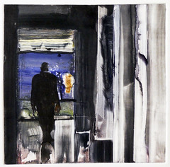 Sleepwalk At the Olcott 2 (TomBennett) Tags: figurative monotype sleepwalking tombennett