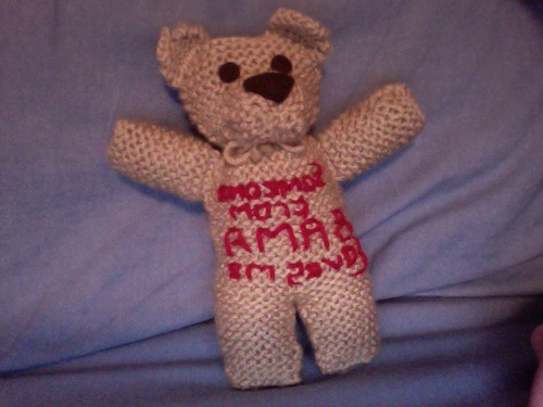 Mommy's Bama Teddy Bear