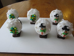 Snowglobe Cupcakes cincinnati ohio