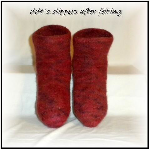 DD4's Felted Slippers 6