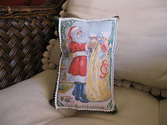 Post Card Pillow Front