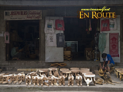 Banaue Souvenir Vendor