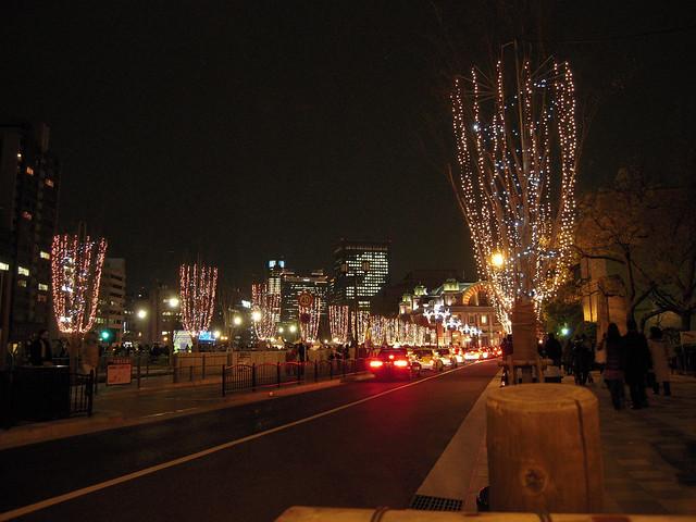 御堂筋イルミネーション - Midosuji Illumination // 2009.12.25 - 41