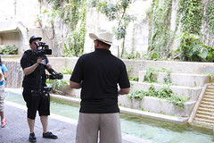 Me filming at Explore (JNB Photo Video) Tags: canon cam steady steadi glidecam xha1 hd4000