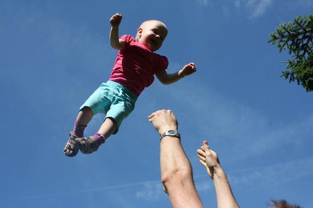 Besuch aus Salzburg inkl. fliegenden Babies : )