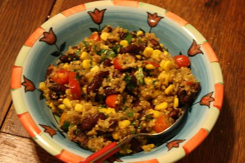 Zesty Cilantro Quinoa Salad3