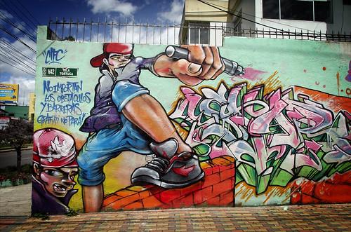 Grafitti no tiene BARRERAS!