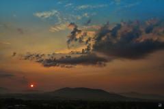 Good Morning (konrad_photography) Tags: morning blue sun mountains color sunrise dawn virginia spring airport ridge roanoke va rise appalachians