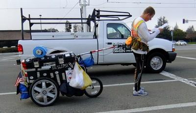 Běh za mír - Piotr Kurylo běží kolem světa