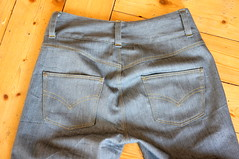 Jeans_back2 (Two_tango) Tags: jeans denim pants trousers hose nähen sewing garments diy crafting