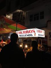 (velvetstardust22) Tags: silhouettes people gente mexico huaniqueo churrosrellenos churros churro