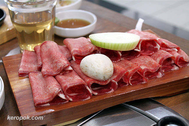 Our order of Beef Tongue (WOOSUL)