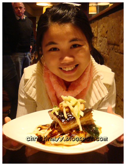 Fire + Ice Restaurant: Pork Belly