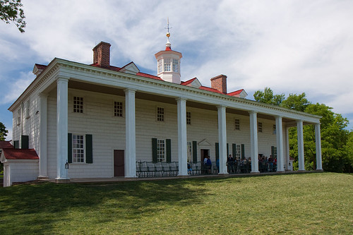 The mansion at Mount Vernon, Virginia