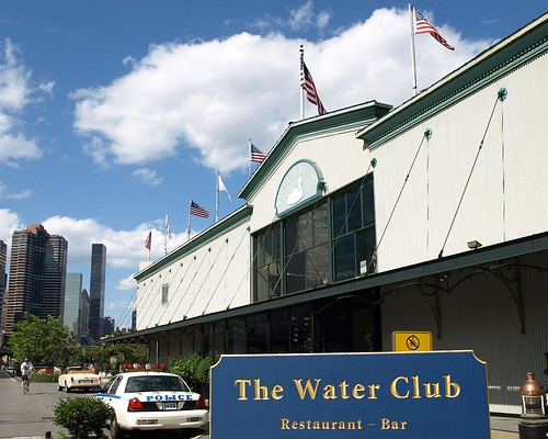 The Water Club Restaurant, East River, New York City