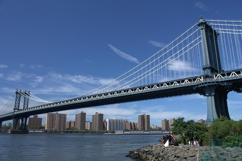 Manhattan Bridge + Manhattan