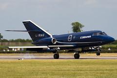 G-FRAU - Cobham - Dassault Falcon 20DC Mystere - 090704 - Waddington - Steven Gray - IMG_8696