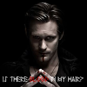 true blood eric northman short hair. Eric Northman Blood in Hair
