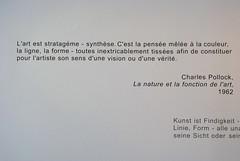 Citation Charles Pollock1962 (ArtySil) Tags: art pollock citation