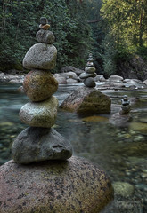 Holy Trinity (janusz l) Tags: longexposure bridge vancouver turn creek river geotagged rocks suspension district north earlymorning lynn holy trinity valley turns hdr janusz leszczynski 000910 slowmydown geo:lat=49344452 geo:lon=123019798