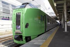 津軽線で連絡特急を撮影する