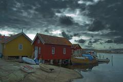Rock and boats (Johan Runegrund) Tags: abigfave
