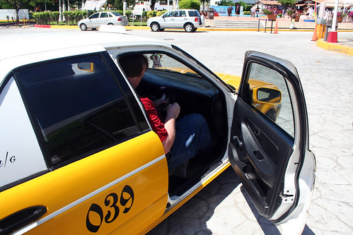 Mike Pays the Cab Driver - Puerto Vallarta