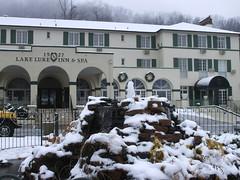 Winter at the Inn (irishboy86) Tags: christmas winter wedding party snow northcarolina reception mountians lakelure the1927lakelureinnandspa