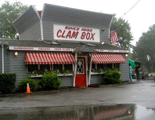 Clam Box In The Rain