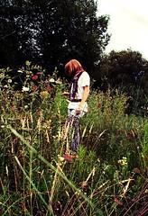 campo (·Elenarc) Tags: flores sara campo pelirroja safa burela