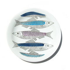 Rrstrand fish plate (Wooden donkey) Tags: vintage ceramic sweden swedish pottery porcelain