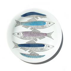 Rörstrand fish plate (Wooden donkey) Tags: vintage ceramic sweden swedish pottery porcelain